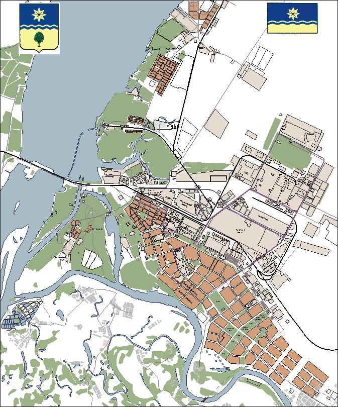 карта города волжский с номерами домов